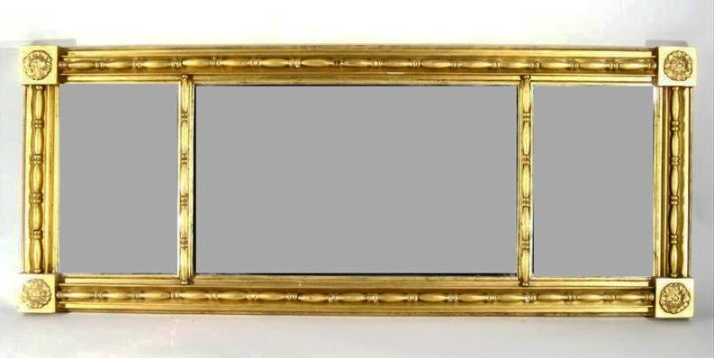 Classical Overmantle Mirror - Inv. #10268