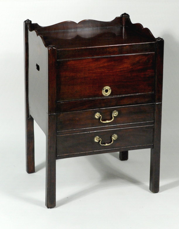 George III Commode Table - Inv. #10797