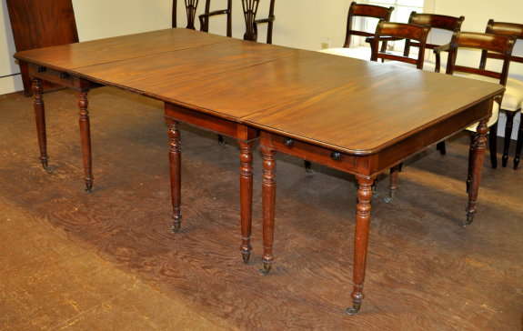 George III Dining Table - Inv. #11012