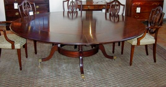 Georgian Round Dining Table - CGRDT
