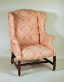 Chippendale Mahogany Wing Chair - Inv. #10171