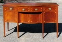 Hepplewhite Inlaid Mahogany Serpentine Sideboard - Inv. #10224