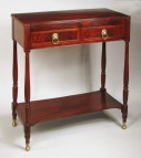 Sheraton Mahogany Server, Attributed to Duncan Phyfe, Circa 1810-15 - Inv. #10319