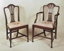 Set 10 Georgian Style Dining Chairs - Inv. #10367