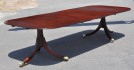 Period Sheraton Mahogany Two Pedestal Dining Table - Inv. #10581
