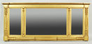 Classical Carved & Gilded Overmantle Mirror - Inv. #10686
