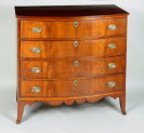 Portsmouth Hepplewhite Inlaid Chest - Inv. #10919